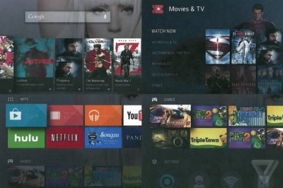 Google готовит Android TV